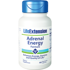 Life Extension Adrenal Energy Formula 60 vcaps L01628