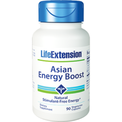 Life Extension Asian Energy Boost 90 vcaps L80593