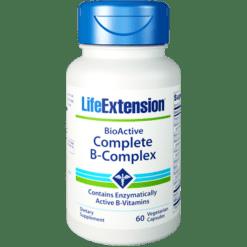 Life Extension BioActive Complete B Complex 60 vegcaps L94569
