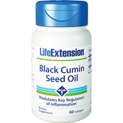 Life Extension Black Cumin Seed Oil 60 gels L70969