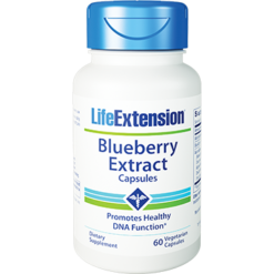Life Extension Blueberry Extract 60 vegcaps L01214