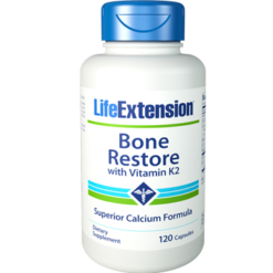 Life Extension Bone Restore with Vitamin K2 120 caps L72710