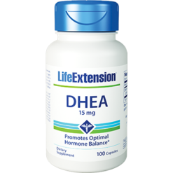 Life Extension DHEA 15 mg 100 caps L54106