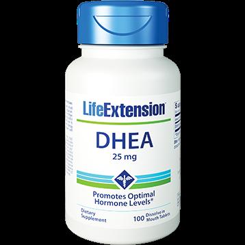 Life Extension DHEA 25 mg 100 tabs L07106