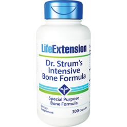 Life Extension Dr Strums Intensive Bone Form 300 vegetarian capsules L01506