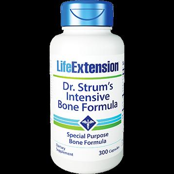 Life Extension Dr Strums Intensive Bone Form 300 vegetarian capsules L01506