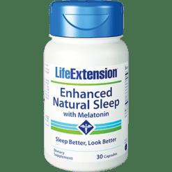 Life Extension Enhanced Nat. Sleep w Melatonin 30 caps L01507