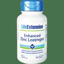 Life Extension Enhanced Zinc 30 veg lozenges L96136