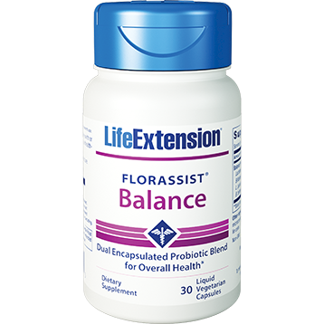 Life Extension FlorAssist Probiotic 30 lvcaps L18063