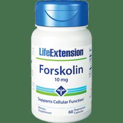 Life Extension Forskolin 10mg 60 vegcaps L00300