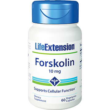 Life Extension Forskolin 10mg 60 vegcaps L00300