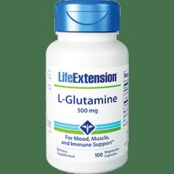 Life Extension Glutamine 500 mg 100 caps L45107