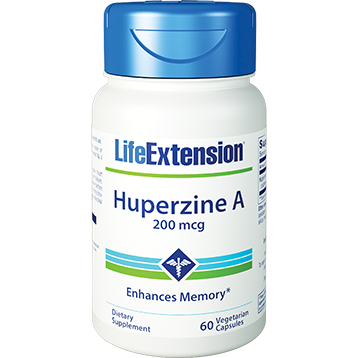 Life Extension Huperzine A 60 vegetarian capsules L01527