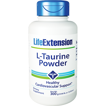 Life Extension L Taurine Powder 300 g L00133