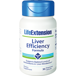 Life Extension Liver Efficiency Formula 30 vegetarian capsules L60830