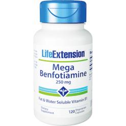 Life Extension Mega Benfotiamine 250 mg 120 vegcaps L00925