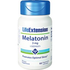 Life Extension Melatonin 3 mg 60 lozenges L32060