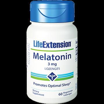 Life Extension Melatonin 3 mg 60 lozenges L32060