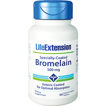 Life Extension Specially Coated Bromelain 60 tabs L01203