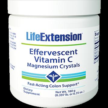 Life Extension Vitamin C Magnesium Crystals 180 g L73618