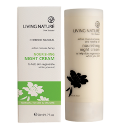 Living Nature Nourishing Night Cream 50 ml L14023