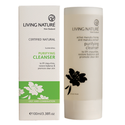 Living Nature Purifying Cleanser 100 ml L11024