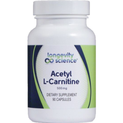 Longevity Science Acetyl L Carnitine 90 vegetarian capsules ALC90