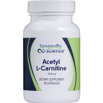 Longevity Science Acetyl L Carnitine 90 vegetarian capsules ALC90