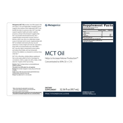 Metagenics MTC Oil