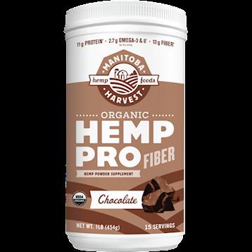 Manitoba Harvest Organic Hemp Protein Chocolate 1 lb M7013
