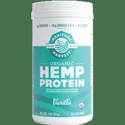 Manitoba Harvest Organic Hemp Protein Vanilla 1 lb M7012