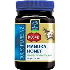 Manuka Health MGO 400 Manuka Honey 17.6 oz MK107