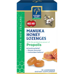 Manuka Health Manuka Honey amp Propolis Lozenges M02312