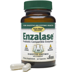 Master Supplements Inc. Enzalase 50 capsules MSP43