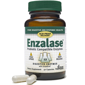 Master Supplements Inc. Enzalase 50 capsules MSP43