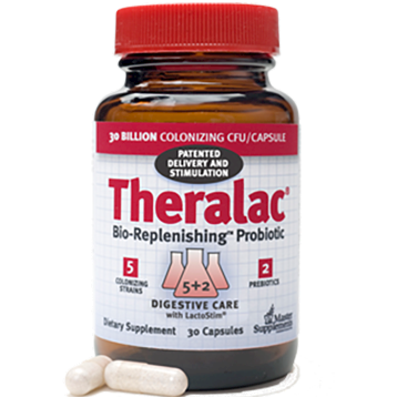 Master Supplements Inc. Theralac 30 capsules MSP21