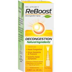 MediNatura ReBoost Decongestion Nasal Spray 20 ml M10186