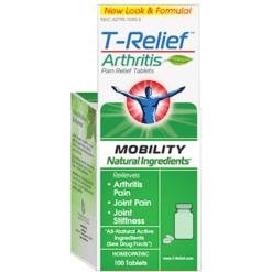 MediNatura T Relief Arthritis 100 tablets M10106