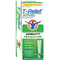 MediNatura T Relief Arthritis Cream 2 oz M10180