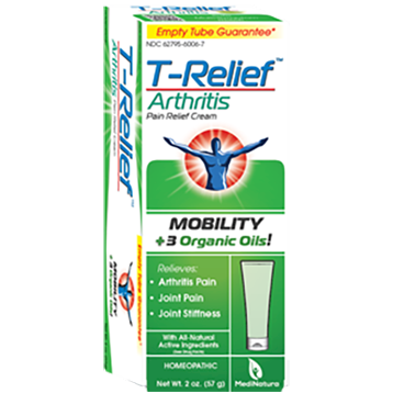 MediNatura T Relief Arthritis Cream 2 oz M10180