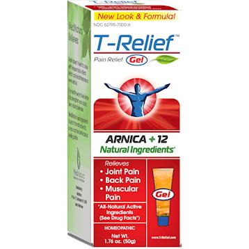 MediNatura T Relief Pain Gel 2 fl oz M20094