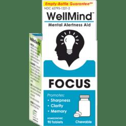 MediNatura WellMind Focus Tablets Lemon 90 tabs M52796