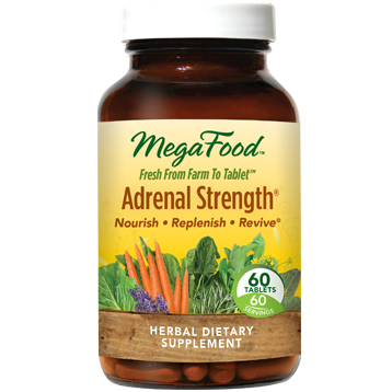 MegaFood Adrenal Strength 60 tabs M20022