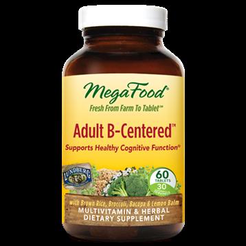 MegaFood Adult B Centeredtrade 60 tabs M10334