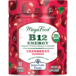 MegaFood B12 Energy Cranberry Gummy M03470