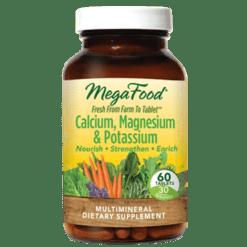 MegaFood Cal Mag amp Potassium 60 tabs M10231