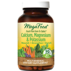 MegaFood Cal Mag amp Potassium 90 tabs M10232