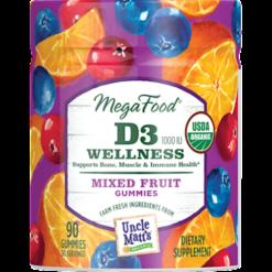 MegaFood D3 Wellness 1000 IU Gummy M03487