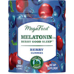 MegaFood Melatonin Berry Good Sleeptrade 90 gummies M03593