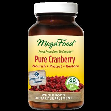 MegaFood Pure Cranberry 60 vegcaps M10279